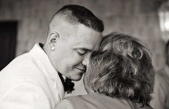 Outer-Banks-NC-wedding-photo-groom-mom-emotional-photograph
