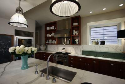 Roscoe Village Residence kitchen
