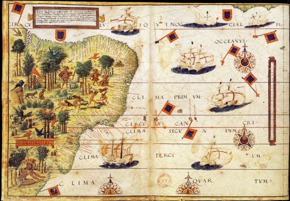 Lopo Homen.Atlas portugais dit atlas Miller, 1519.BNF