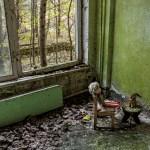 Pripiat, près de Tchernobyl, ville touristique