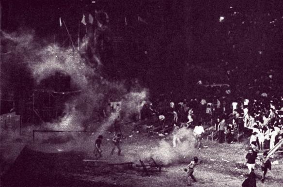 Vigorelli Stadium 5 luglio 1971. Led Zeppelin