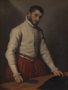Giovanni Battista Moroni, 1520/4 - 1579 The Tailor ('Il Tagliapanni') 1565-70 Oil on canvas, 99.5 x 77 cm Bought, 1862 NG697 https://www.nationalgallery.org.uk/paintings/NG697