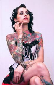 Emy Claire - Miss Tattoo Uk 2013 By James Smith Photography