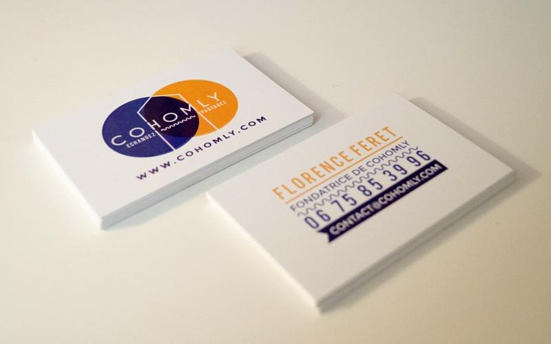 Cartes de visite CoHomly - 800 x 500