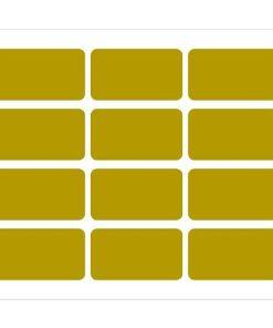 Etichette rettangolari per bomboniere 68x38