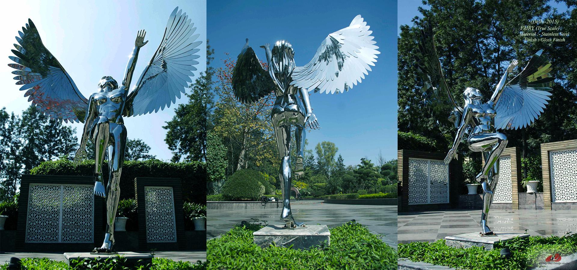 Fairy Metal Sculpture 6 feet