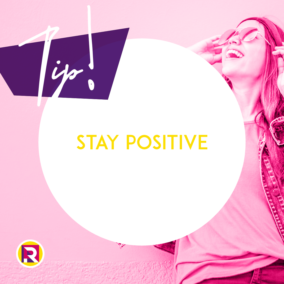 Stay positive!