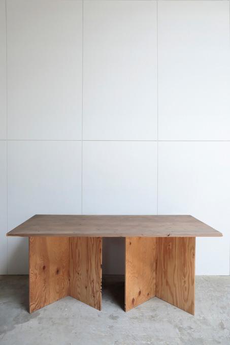 ②テーブル W1820×D920×H7630