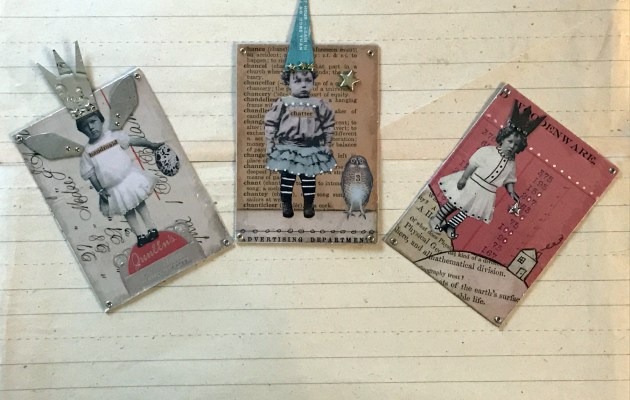 Marvelous Mica ATCs!