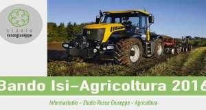 Bando-Isi-Agricoltura-2016-studiorussogiuseppe-finanza-agevolata
