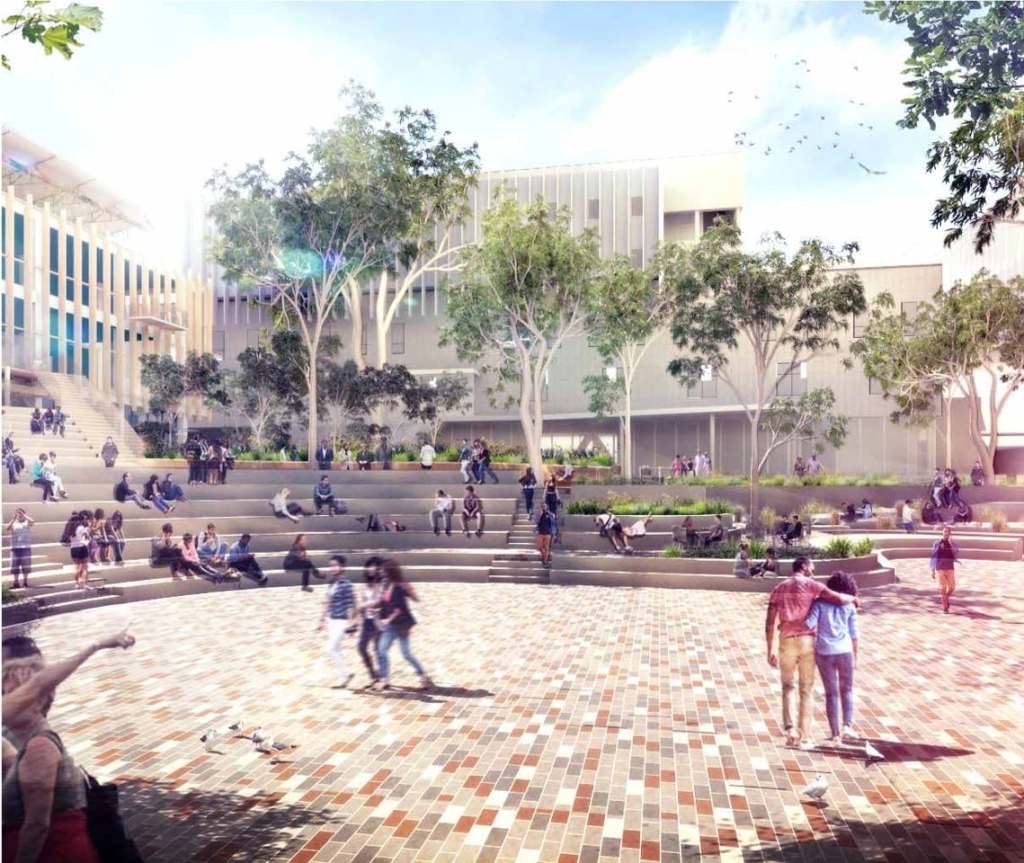 New Student Precinct, Schematic Design Report – August 2018 (Lyons Architecture).1