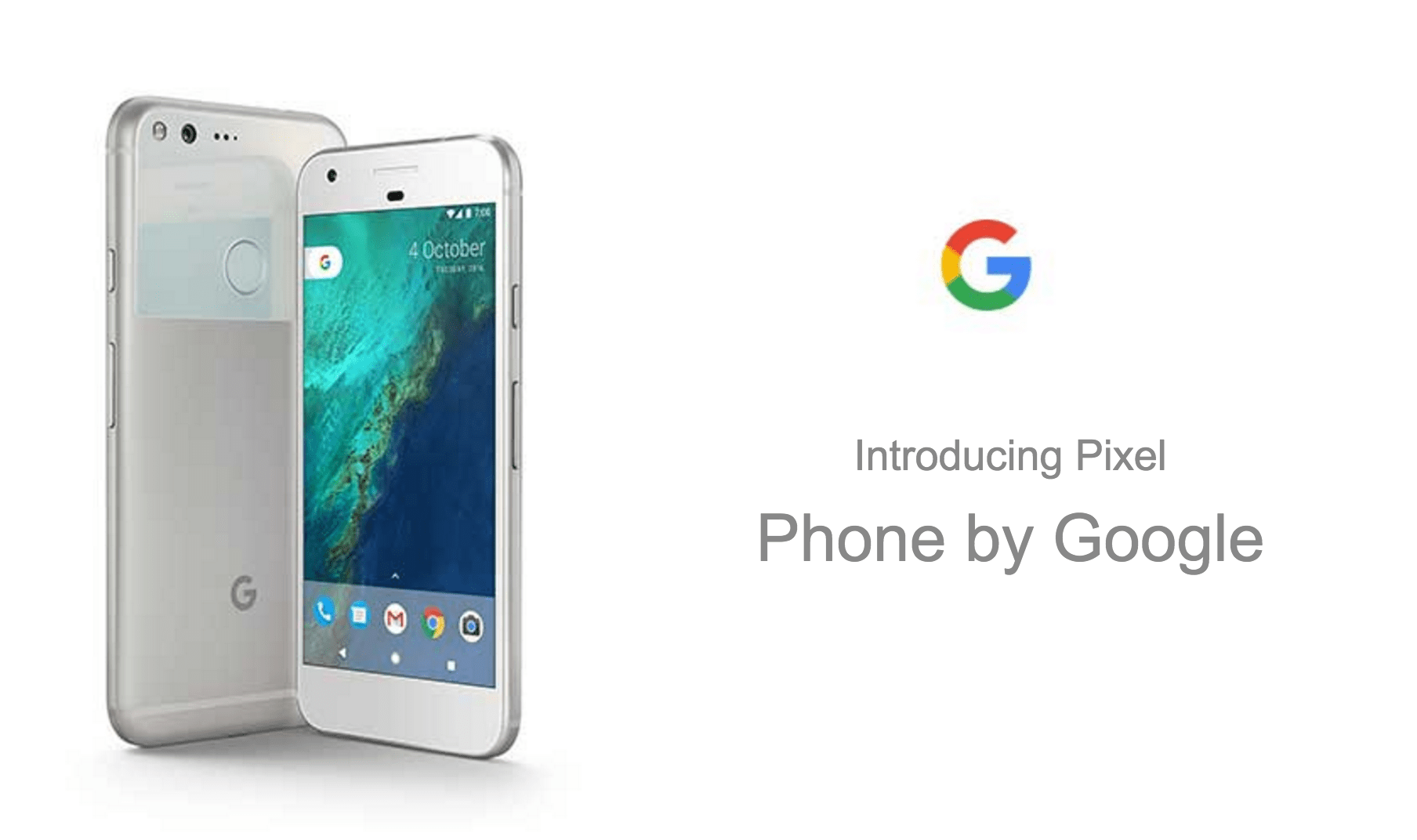 Introduciendo Google Pixel