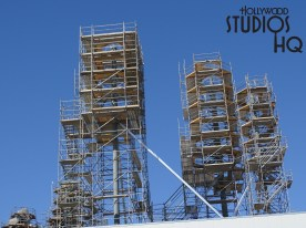 New this week is a great report of construction progress on the Star Wars Galaxy's Edge. The Planet of Batuu received a mountain peak on their main formation. Also, crews have now enclosed the main building from the back to the front! Meanwhile, don't forget fans can stir up their anticipation by attending the May 27 Star Wars Galactic Nights at Hollywood Studios event.Enjoy the pictures and video below! Disney's Hollywood Studios. Photo by John Capos