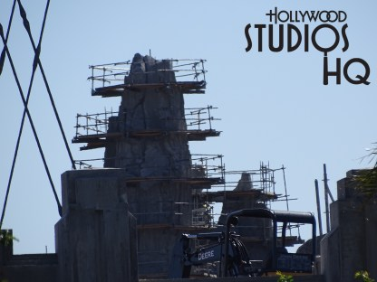 New this week is an exclusive view of building crews applying steel wire molding to future mountains and other structures inside the long anticipated Star Wars: Galaxy's Edge. Visible in the photos below are a small building now completely enclosed while workers continue to close up the main show building. Remember to visit Hollywood Studios HQ daily for the most in depth and accurate and current information on Star Wars: Galaxy's Edge, as well as on attractions throughout Disney's Hollywood Studios. Photo by John Capos