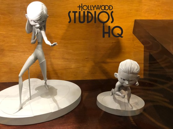 An exclusive sneak peek of the acclaimed Incredibles 2 film now awaits annual passholders. This special viewing is from 9 am to 10 am daily between May 18 and June 29 at Walt Disney Presents. Passholders can begin their daily Park visit with a glimpse of Mr. Incredible, Elastigirl, Dashiell, Violet, and Baby Jack-Jack as they star in their new motion picture, set to open in theatres June 15. From 10 am to 8pm the sneak peak is available for all guests. Incredible 2 motion picture themed merchandise awaits guests outside the theatre entrance inside Walt Disney Presents. Disney's Hollywood Studios. Photo by John Capos