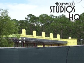 Construction work progresses this week, including the new main entrance ticket booth and bridge located near the existing guest parking. Likewise, steel beams are placed in the overpass structure at the Osceola Parkway and Victory Lane intersection. Hollywood Studios HQ photos below reveal the latest roadway construction progress. Disney's Hollywood Studios. Photo by John Capos