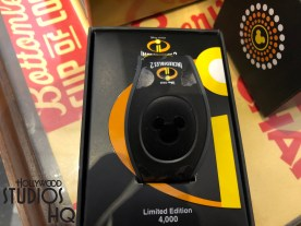 Fans are flocking to The Dark Room on Hollywood Blvd to purchase one of the 4,000 limited edition Incredibles 2 themed Magic Bands. These limited edition Magic Bands feature the entire motion picture Incredibles 2 family featured in black shadow designs. Baby Jack Jack has his own bright color image centered on the Magic Band. Guests should act soon to purchase due to the limited supply. Disney's Hollywood Studios. Photo by John Capos