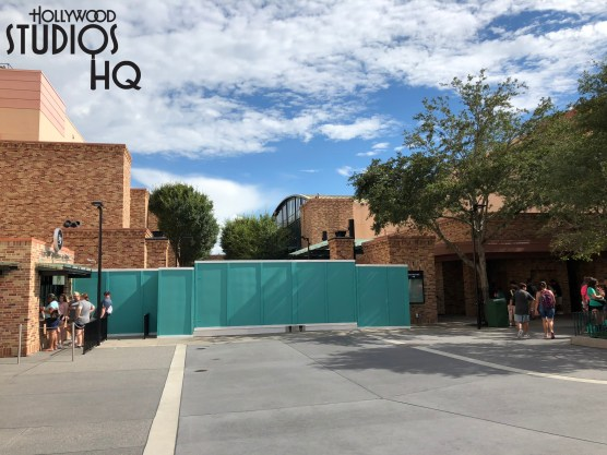 With the opening of Toy Story Land opening on June 30, 2018, Pixar Place remained opened for a week for merchandise and character meet and greet. With opening week crowds subsided, a construction wall has been positioned to finally close the former Pixar Place. Character Meet and Greets are relocated to the Toy Story Land, while merchandise has been relocated throughout the Park for guest shopping. Click here for full coverage of exciting Toy Story Land Merchandise. Disney's Hollywood Studios. Photo by John Capos