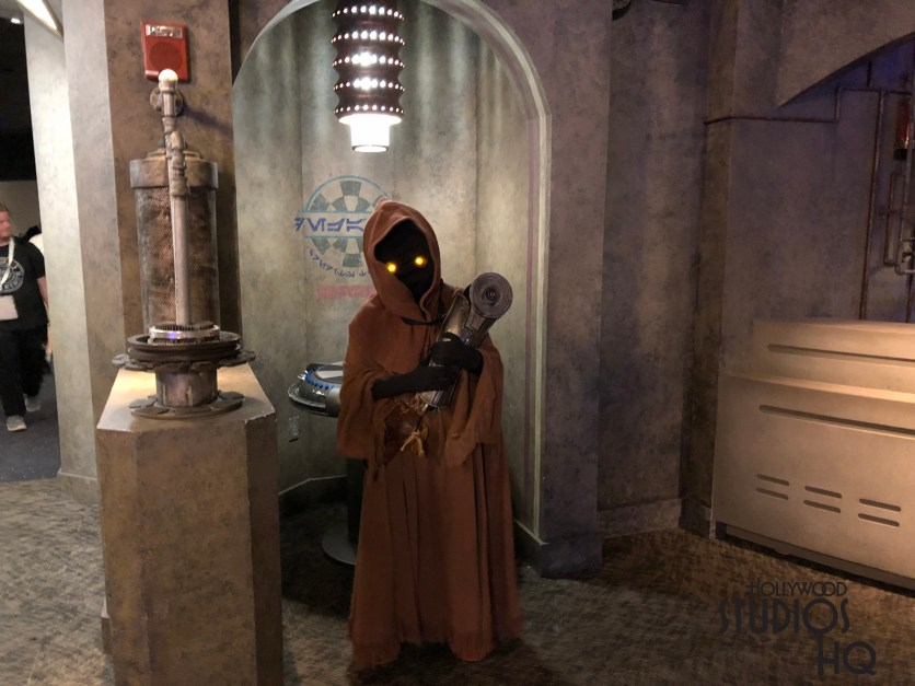 Jawas returned to Star Wars Launch Bay for Photopass Day 2018. Disney's Hollywood Studios. Photo by John Capos
