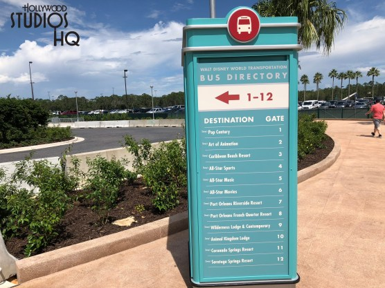 Guests utilizing Disney resort bus transportation to and from the Park will find that the arrival and departure locations for all resorts have relocated to the new bus loading and unloading area. While construction for the permanent Disney resort bus area is still underway, guests will now utilize the recently completed charter bus arrival area. The former resort bus loading areas are quickly being demolished as pictured below. Disney's Hollywood Studios. Photo by John Capos