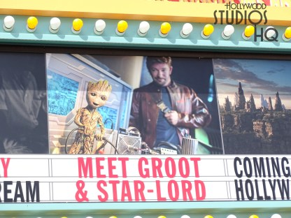 The last day for guests to meet and greet Star Lord and Groot will be this Saturday, September 29. After a temporary renovation of this location inside Walt Disney Presents, guests can plan to meet Mike and Sully from Monsters, Inc. beginning January 18, 2019. Disney's Hollywood Studios. Photo by John Capos