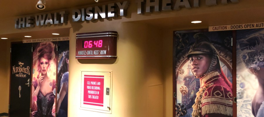 Guests can now enjoy a sneak preview of this new Disney motion picture in the Walt Disney Theater. The new 10 minute preview shares a glimpse of Clara's attempt to retrieve the key to unlock the box with a priceless gift inside. This new film is scheduled for release in theaters on November 2, 2018. Disney's Hollywood Studios. Photo by John Capos
