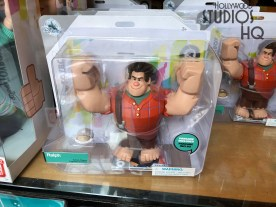 Shoppers will want to head to Mickey's of Hollywood for their new themed merchandise in advance of the much anticipated Disney movie Wreck-It Ralph 2. This film is to be released in theaters later this fall. Colorful figurine, doll, and plush film characters are ready on shelves. Guest can experience Wreck-It Ralph smashing when they purchase a pair of Ralph smash fists that activate sounds when used. Disney's Hollywood Studios. Photo by John Capos