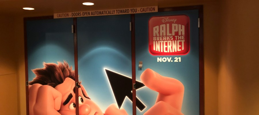 Guests can enjoy a glimpse of the new motion picture Ralph Breaks The Internet at the Walt Disney Theatre now through November 26. This motion picture premiers in theaters on November 21. Stay tuned to Hollywood Studios HQ for the latest news. Photo by John Capos