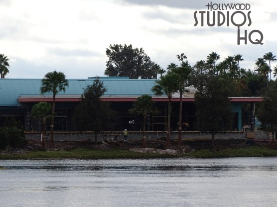 Crews have been busy planting trees surrounding the Park's gondola arrival and departure station. Finishing work on the concrete walls as well as guest walkways is also pictured below. Stay tuned here at Hollywood Studios HQ for the latest construction news. Disney's Hollywood Studios. Photo by John Capos