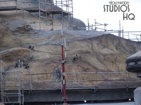 Workers have completed an additional domed pillar as Planet Batuu construction continues. A new radar dish has been added this week as pictured below. Hollywood Studios HQ remains the best source for news and photos on this project. Disney's Hollywood Studios. Photo by John Capos. Star Wars: Galaxy's Edge