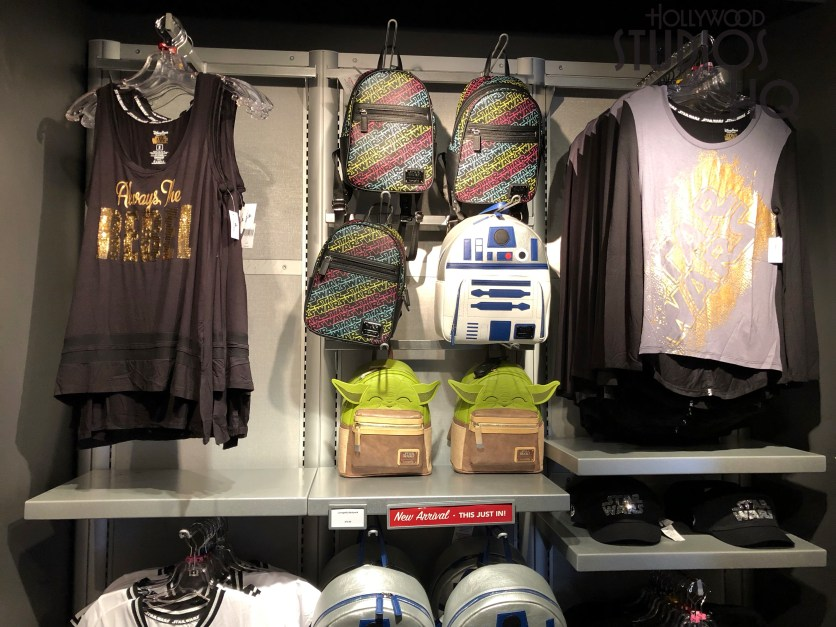 New women's Star Wars themed bags by Loungefly have landed on shelves at Launch Bay Cargo. Shoppers can select from Yoda or R2-D2 designs. Stay connected to Hollywood Studios HQ for all merchandise news. Disney's Hollywood Studios. Photo by John Capos
