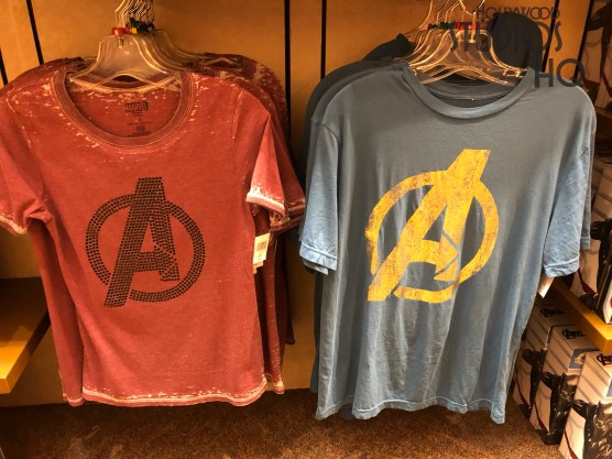 Avengers fans will want to see the new authentic Avengers:Endgame motion picture merchandise inside Mickey's of Hollywood. Detailed action figures along with Iron Man Repulsor Gloves are now on display. Adult themed apparel and pop figures of the main film characters await shoppers. The latest merchandise news is always available at Hollywood Studios HQ. Disney's Hollywood Studios. Photo by John Capos