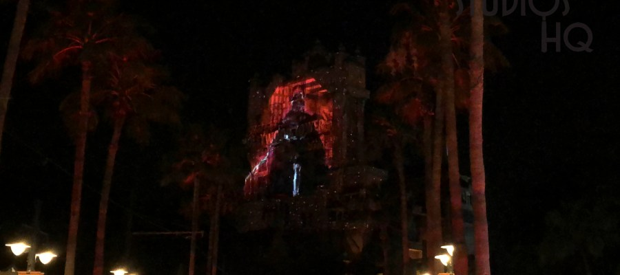 Disney's After Hours ticketed event on May 4, 2019, celebrated with special Star Wars character meet and greets in addition to stunning planet scenes projected on the Tower Of Terror. Disney's Hollywood Studios. Photo by John Capos