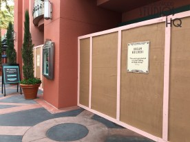 Crews have positioned construction walls at entrances for the refurbishment work that began May 5, 2019. The ABC Commissary is scheduled to reopen in June. Dining reservations will be offered for dinner. Stay connected to Hollywood Studios HQ for the latest Park dining information. Disney's Hollywood Studios. Photo by John Capos