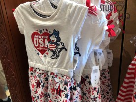 Just in time for summer, guests can select from red, white, and blue themed merchandise. Both child and adult patriotic Disney apparel including tops, visors, and caps are now on shelves. Stay connected to Hollywood Studios HQ for all upcoming patriotic celebration news. Disney's Hollywood Studios. Photo by John Capos