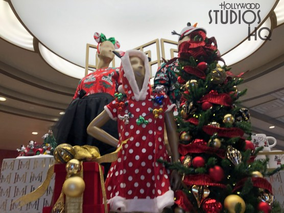 A great selection of Christmas cheer awaits shoppers at Mickey's of Hollywood as holiday merchandise appears on shelves. Guests can select from a variety of ornaments, apparel, and other themed gift items. Stay tuned to Hollywood Studios HQ for all holiday news! Disney's Hollywood Studios. Photo by John Capos