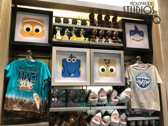 Finding Nemo themed merchandise has arrived on Sunset Blvd shelves in time for January shoppers. Guests can select from adult and child tee shirts, colorful mugs, and character plush. Why not stay with Hollywood Studios HQ throughout 2020 for as your best news source. Disney's Hollywood Studios. Photo by John Capos