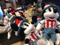 Guests will want to make their way to Sunset Blvd for a selection of discounted American patriotic merchandise now offered at Carthay Circle. Patriotic themed Mickey plush, coffee mugs, and carry bags are awaiting shoppers. This Americana Collection offering also includes adult and children's apparel and accessories along with red, white, and blue key chains and pens. The most complete Park merchandise news can always be found at Hollywood Studios HQ. Disney's Hollywood Studios. Photo by John Capos