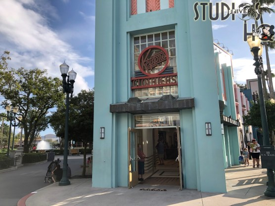 Guests can now enjoy shopping in the reopened Keystone Clothiers. A selection of Star Wars and Marvel themed merchandise is available. This is the last store to reopen on Hollywood Blvd. Stay connected to Hollywood Studios HQ for all the latest Park news! Disney's Hollywood Studios. Photo by John Capos