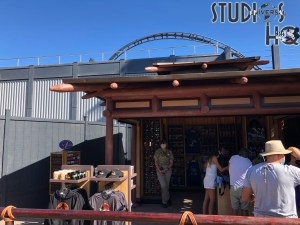 Workers have removed a large portion of the construction walls to reveal the future attraction's authentic Jurassic Park containment fencing. Crews continue to work on the track supports while a new Jurassic Park merchandise kiosk has opened next to the new fencing. Click on the video below for a first hand view. Subscribe today to Hollywood Studios HQ to stay informed of the latest Universal Studios Orlando news. Universal Orlando. Photo by John Capos