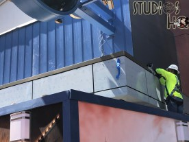 Crews continue work on the new Universal Studios Store located in City Walk. Exterior signage is now visible as construction progresses in preparation for a summer 2021 opening. Stay connected to Hollywood Studios HQ for the latest Park news. Universal Orlando. Photo by John Capos