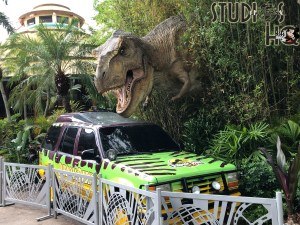 Guests will now find that the popular T-Rex photo op in Jurassic Park is no longer located near the Harry Potter attraction. The new location for phenomenal keepsake photos with T-Rex is nearby the entrance to the Jurassic Park River Adventure. Stay connected to Hollywood Studios HQ for the latest Park news! Universal Orlando. Photo by John Capos