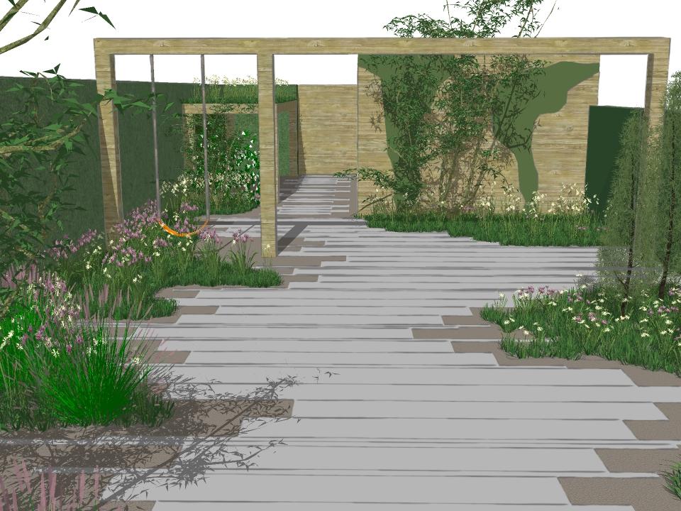 Tuinontwerp gent studio soetkin tuinarchitectuur for Tuinarchitect gent