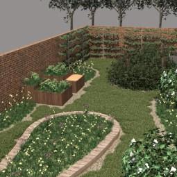 tuinontwerp stadstuinen