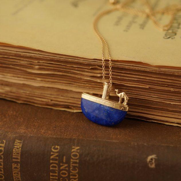 K18, Lapis Lazuli, Diamond
