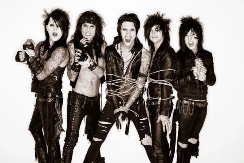 Glam Fall Background Wallpaper Black Veil Brides Fotos 121 Fotos Letras Mus Br