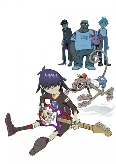 Gorillaz The Fall Wallpaper Gorillaz Fotos 37 Fotos Letras Com
