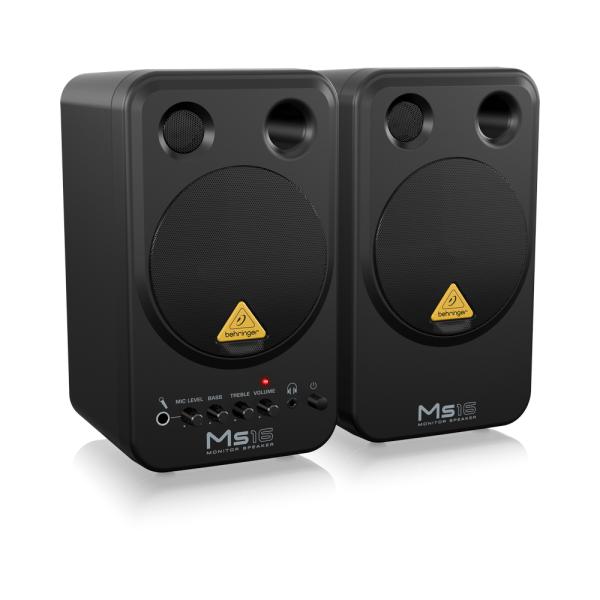 Behringer Ms16 Reference Monitors - Studio Headphones & Speakers Studiospares