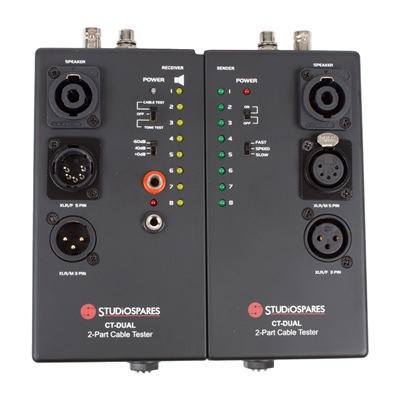 Studiospares CT-DUAL 2-Part Cable Tester
