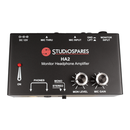 Studiospares HA2 Monitor Headphone Amp